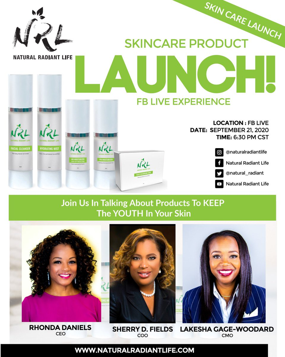 Congratulations to 3 JRF alums on the launch of Natural Radiant Life @JRFoundation!