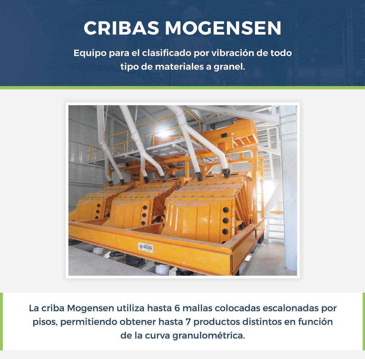 Las #Cribas #Mogensen son máquinas de cribado potentes y flexibles para el tratamiento de sólidos a granel en la industria de tecnología de procesos y cubren las necesidades de una amplia variedad de #sectores #industriales a nivel mundial.  Visítanos en https://t.co/MF4EBRz5tp https://t.co/LjcF6dgvaB
