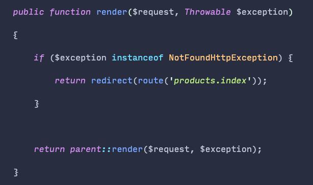 People underutilize the exception handler