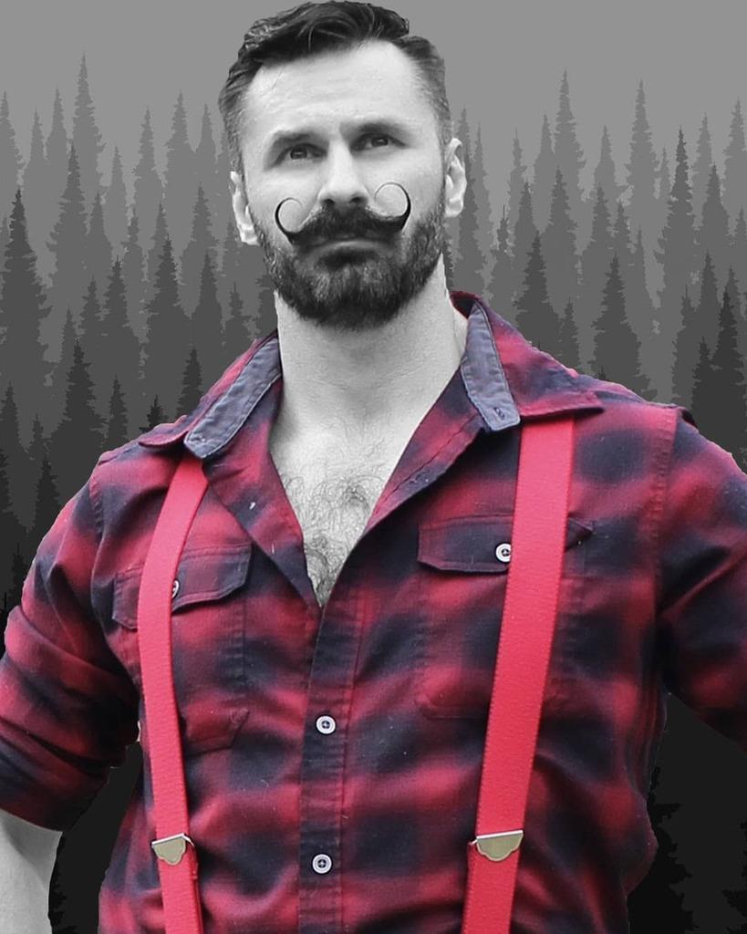 The Lumberjack https://t.co/4rKKrX8GdF #lumberjack #lumbersexual #mountains #outside #forest #adventure #bearded #beard #dadbod #mustache #blackandwhite #bw #forest #woods #country #mensstyle #suspender #portrait https://t.co/RLK06DfB0K https://t.co/eC9V7Y2UiP
