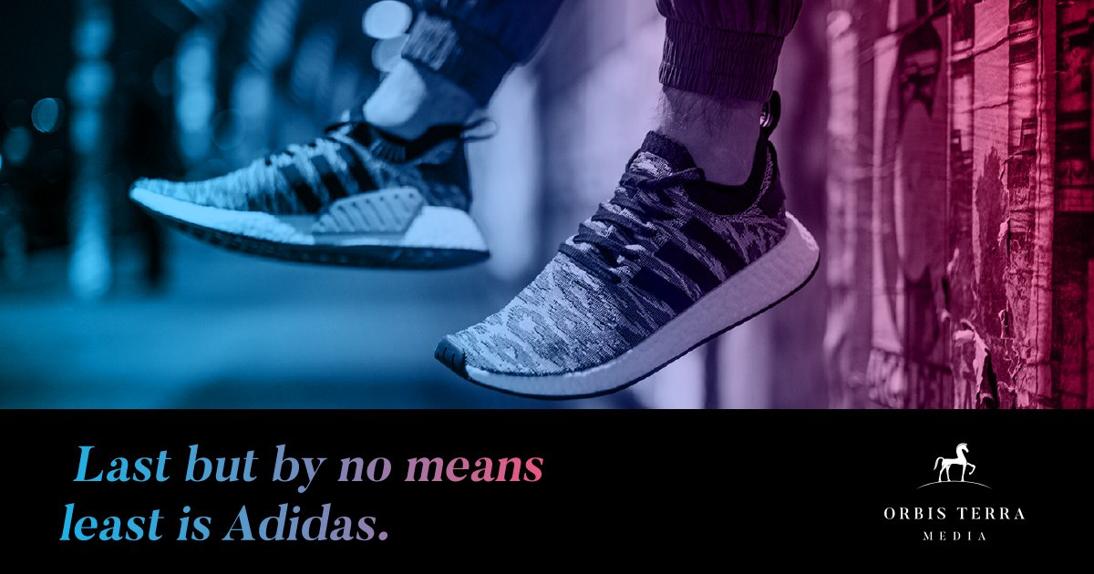 Adidas:   This company has a really compelling case study of what happens when a brand loses sight of its brand story and how it then successfully worked to recover it.  Take a minute or two to read their journey here https://t.co/RkQvDy5RDy  #branding #adidas #nike #brandstory https://t.co/2p00AOUfPS