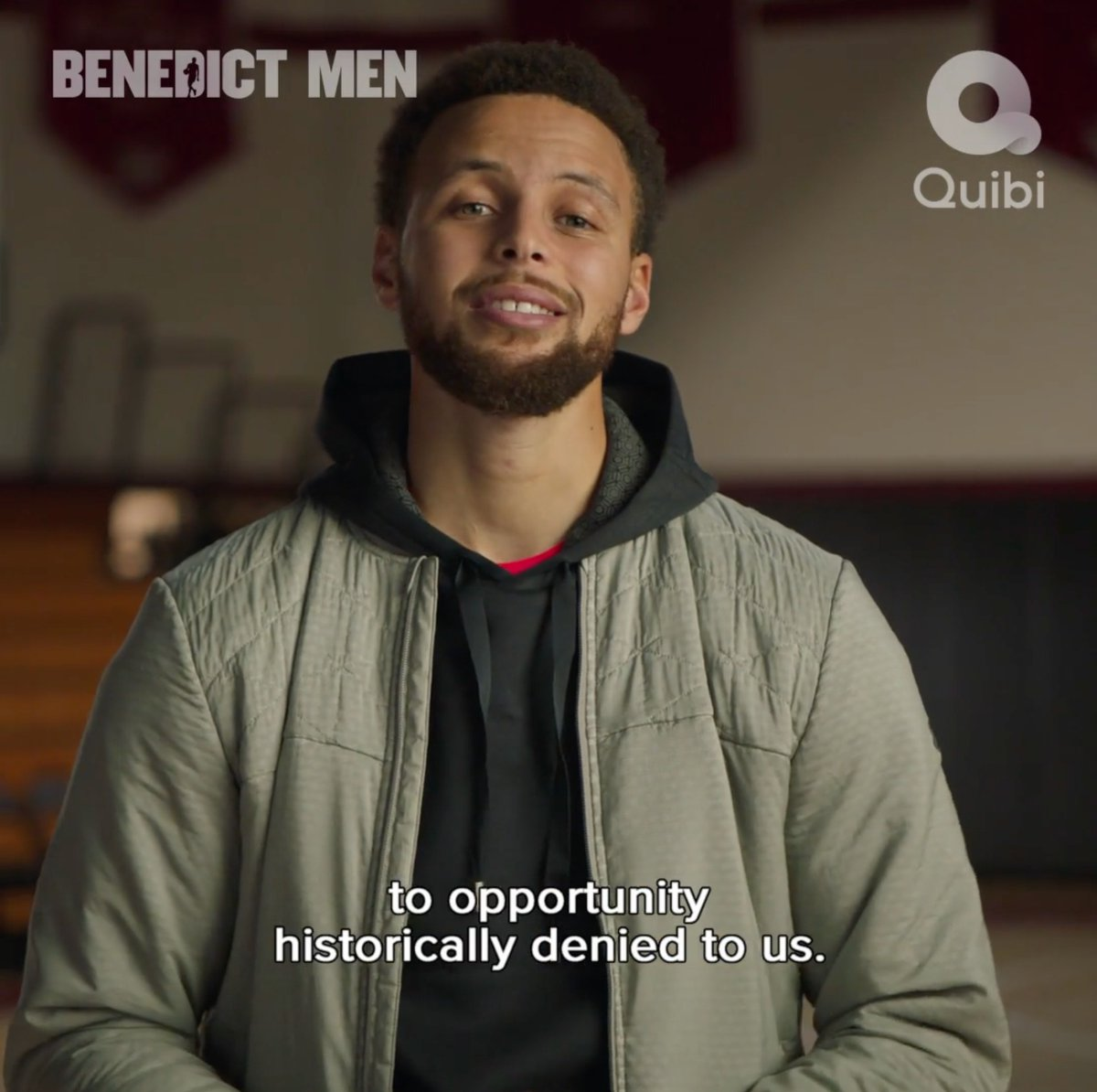 Hyped for this one 🙌🏽 #BenedictMen is streaming now on @Quibi! 🍿👀