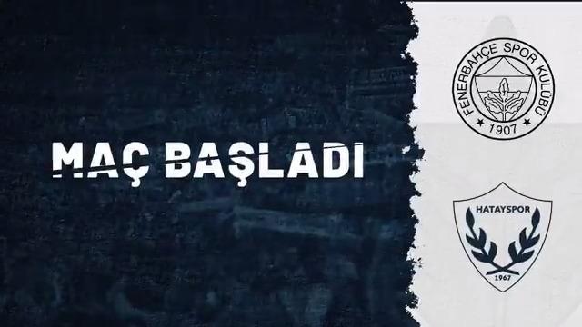 Kadıköy'de maç başladı! 💪  #FBvHAT https://t.co/AmRf1T6c6U