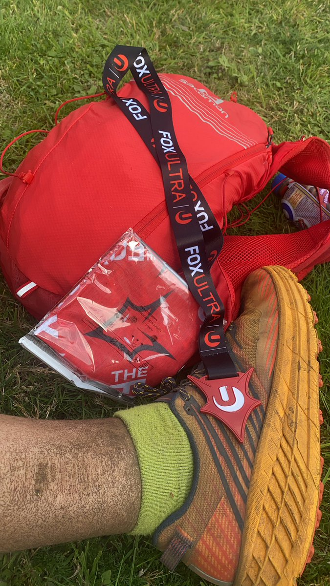 #MedalMonday well this is a a nice surprise! @allabouttri top job at the weekend. You didn't a Sterling job. Goal to complete in 7 hours, actual time 6:59:46.  Time to spare 😂#ultramarathon #foxultra https://t.co/avZXHBrwaX