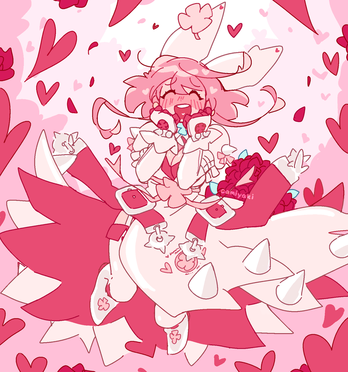 falling in love!!!  #GuiltyGear #ギルティギア