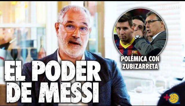 🔥ZUBIZARRETA, EL TATA Y LEO MESSI | EL PODER DE MESSI🔥   Vuestros deseos son órdenes  #FCBarcelona #fcblive #Messi   ▶️https://t.co/6yVfDFL76Y https://t.co/c4TW65jx18