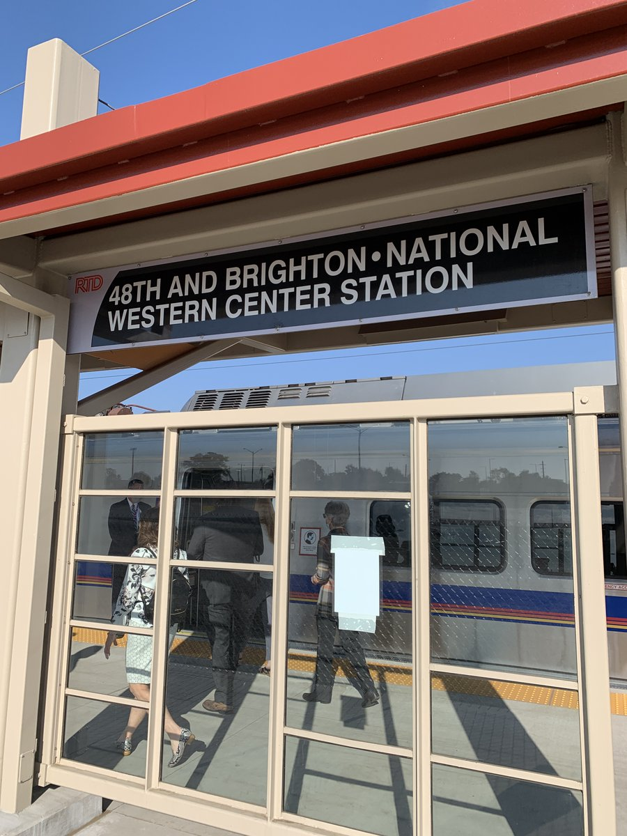 SUPER exciting news — @RideRTD's fresh new N-Line is up and running! 🎉  The #RTDNline will allow GES residents and #CSUSpur visitors to travel between our future campus at the #NationalWesternCenter and Denver's @NewUnionStation with ease. 🚉 https://t.co/PQnaxD5aRP