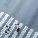 "Image for the Tweet beginning: ""Where do pedestrians look when"
