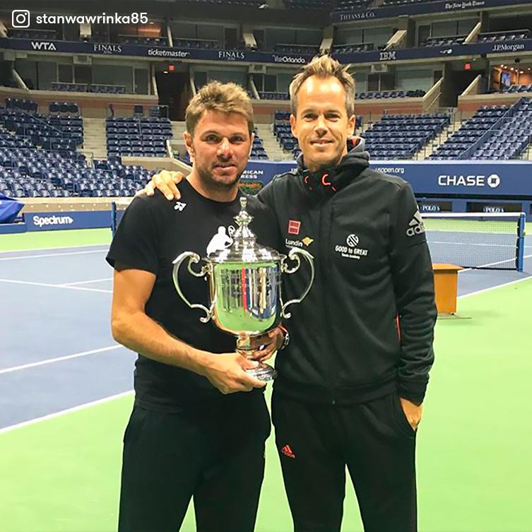 Stan Wawrinka comunicó la decisión de mutuo acuerdo de separarse de Magnus Norman, coach junto al que ganó sus tres títulos de Grand Slam. Un vínculo legendario. 🤝  #TENISxESPN https://t.co/sCjreAHf6W