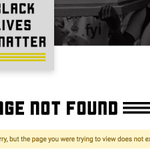 "Image for the Tweet beginning: BLM's ""what we believe"" page,"