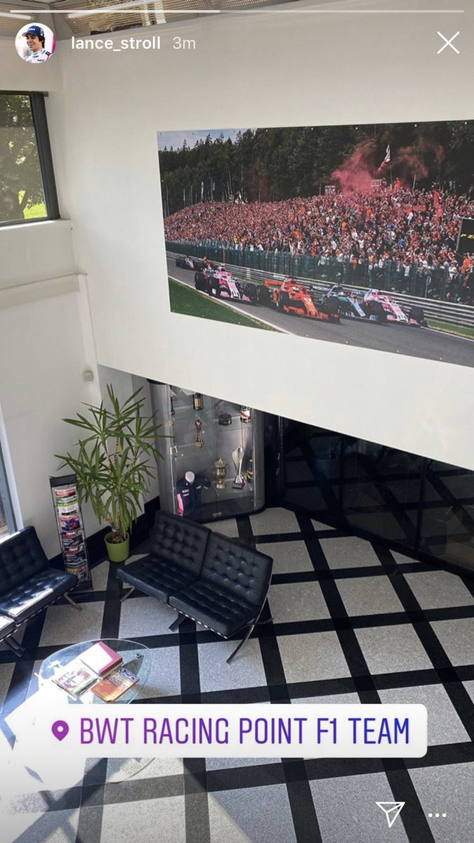 Che vettelini che sono !!! #Seb5 #Vettel #racingpoint #lancestroll @lance_stroll @RacingPointF1 https://t.co/XLgnEwfP0z