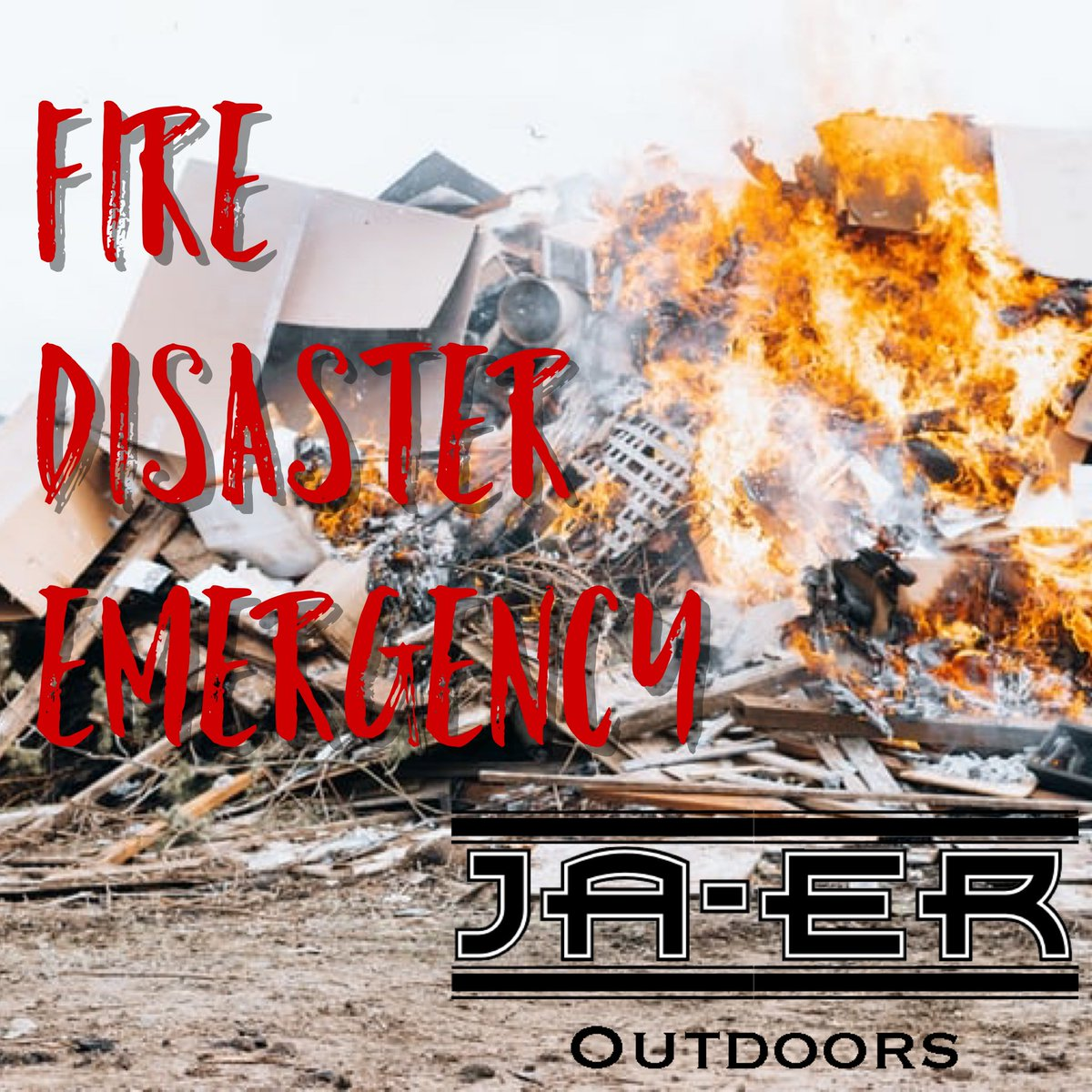 During any natural disaster it's important to make sure you have the necessities. The JAER Outdoor Kit can help. #Water #outdoors #nature #jaer #survival #lioisystems #life #lifestyle #progress #humanity #emergency #camping #hiking #outside #fire #earthquake #hurricane #tornado https://t.co/epL9DWMFm7