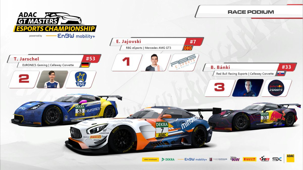 YEEESSSSSSSS, FINALLY DID IT!! 🔥🔥   My first win in the ADAC GT Masters Esports Championship and my dearest of 2020 so far!  Pole position, win and fastest lap - the weekend couldn't have been better. Next round is Sachsenring, in two weeks time. 💪  @r8gesports @PredatorGaming https://t.co/gTvhjrkjpq