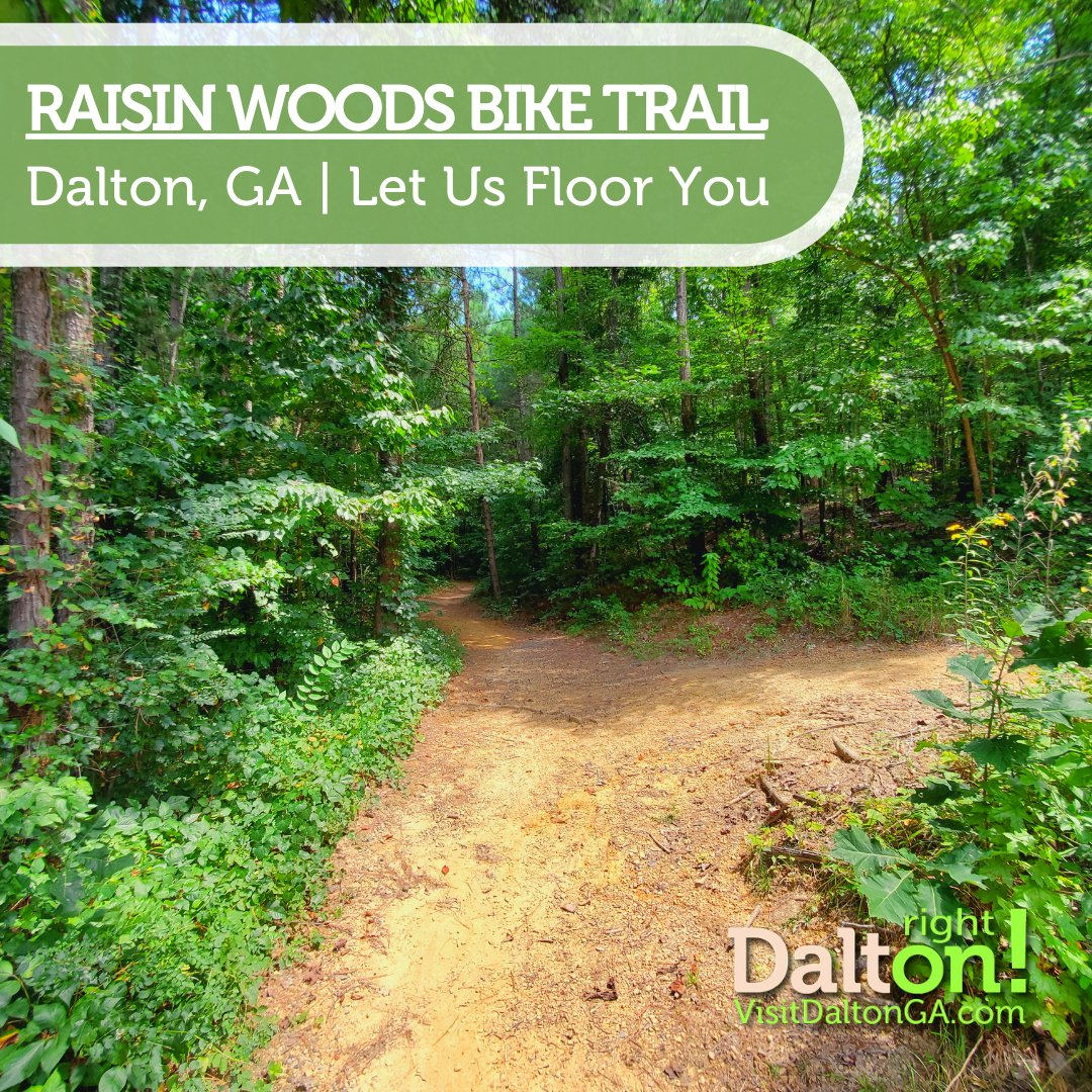 Raisin Woods Bike Trail is a perfect spot to gear up for a ride or go for a hike. Either way, just put one foot in front of the other and enjoy the great outdoors! #Georgia #Outdoors #mountainbike #hiking https://t.co/EYsbpxasWV