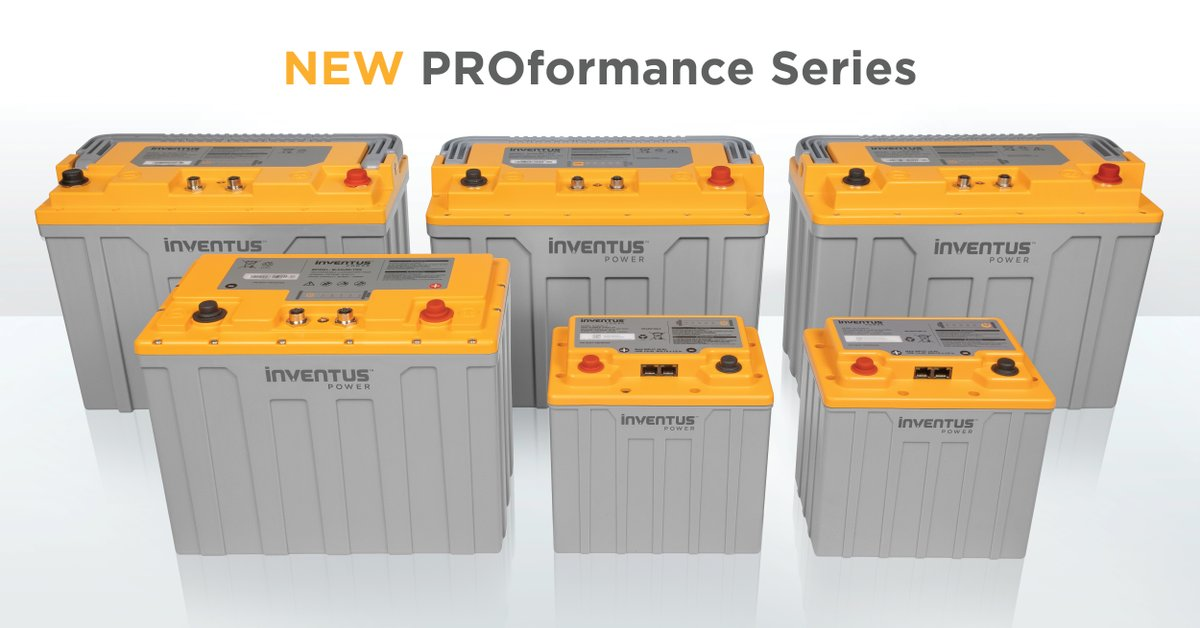 Our PROformance Li-ion batteries are ideal for those who want to replace their Lead Acid battery systems and/or completely electrify their equipment with a safe, high-performing, fast charging & maintenance-free solution. #InventusPowerPRO https://t.co/L3RDs426PU https://t.co/6Rs4QZhlqi