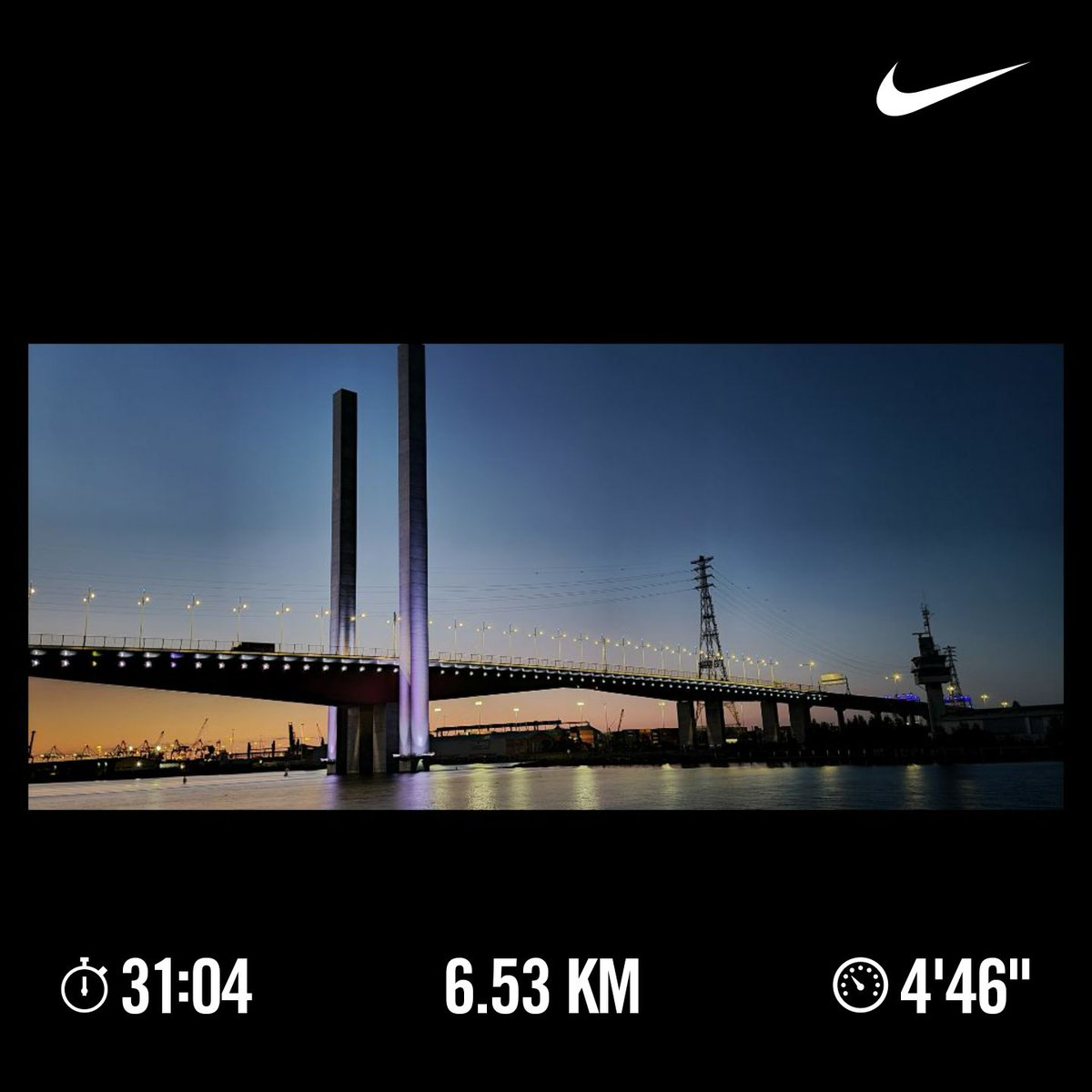#Run 51 2020: 6.53 km running in 31.04 mins🏃‍♂️🏃‍♂️   Stunning sunset evening and pleasant weather. Have a good time being at track.  #asics #runner  #outdoors #runningmanlive #50run2020 https://t.co/RGqKKYE12o