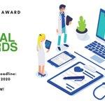 Image for the Tweet beginning: #ICCOGlobalAwards2020 Category: Healthcare Award -