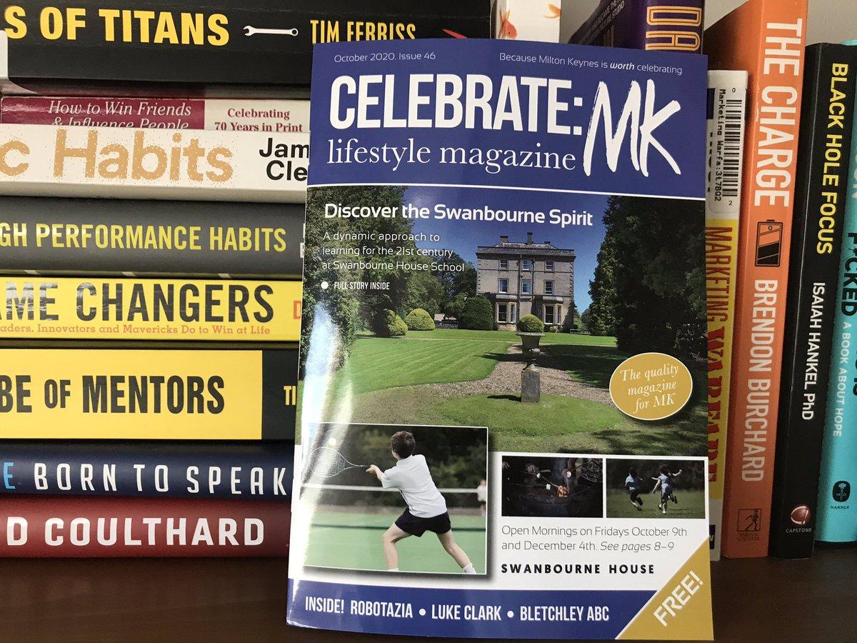 Congratulations @jonboylemk @CelebrateMK on your new issue. Great to see articles from @mkfm @JamMooKow @LeeInTheLights @brandmissionpr @Reelreviewer #miltonkeynes #lovemk #community https://t.co/spATNxfI0D