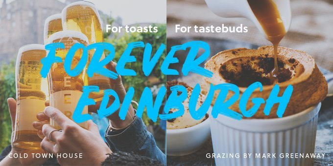 #edinburgh is home to such a thriving food & drink scene:   FOR healthy eating 🥗 FOR comfort food 🍔 FOR afternoon tea 🍰☕  FOR fine dining 🍽 FOR nips 🥃 pints 🍻 wine 🍷  FOR Toasts and FOR Tastebuds 👇 https://t.co/8ghueBEBRC  #FOREVEREDINBURGH #ThisisEdinburgh #StaySafe https://t.co/b2WLBuxHCz