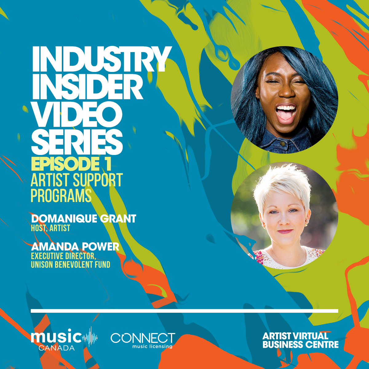 Tomorrow, Music Canada & @CONNECTml will premiere the first episode of our Industry Insider Video Series, hosted by Toronto-based artist @DomaniqueGrant! In Episode 1, Domanique speaks with Amanda Power, Executive Director of @UnisonFund, to provide artists and members of... https://t.co/VBsw3xGa3c