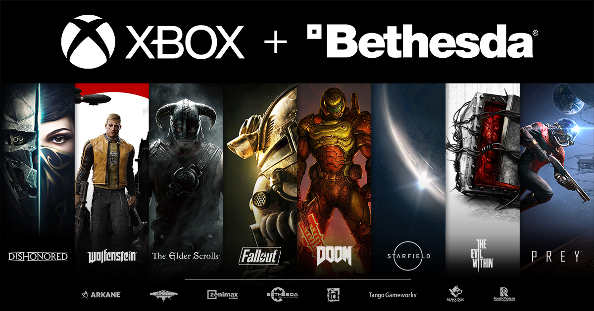 Bethesda is joining the @Xbox family.   A note from Pete Hines: https://t.co/i0FNF9bVEO https://t.co/Ur2KJuKnm8
