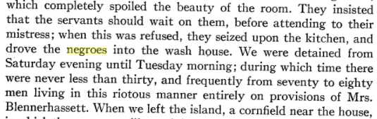 Here's a charming story from a 1937 university history about the time Morgan Neville, scion of a wealthy enslaver family, led a mob of Pitt students on a trip down the Ohio where they harassed a group of enslaved servants on Blennerhassett Island. https://t.co/turbOYM7vp https://t.co/dYSjBhTYEw