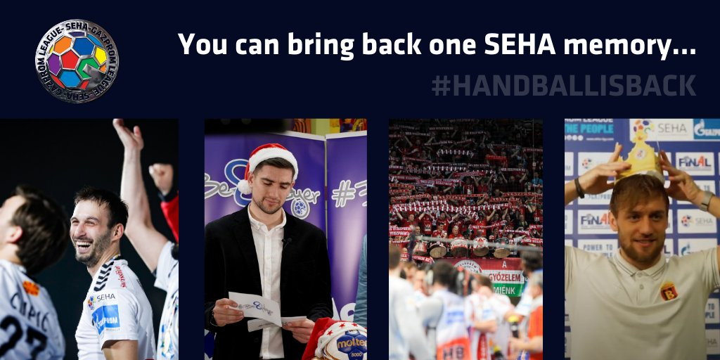 Out of all #SEHA memories ✨ you have, which one would you bring 🔙 ❓  #HANDBALLISBACK #SEHALeague #Gazprom https://t.co/BHgDlX1jOp