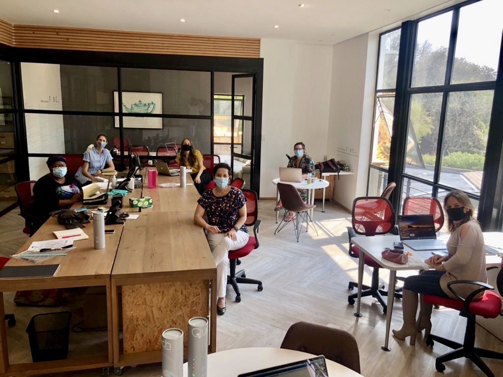 #MondayMotivation As South Africa moves into level one and we start to imagine life post-lockdown, the F/NE team have started to get back into the office for key meetings and some team thinking time💡 https://t.co/9Md5DqBpTJ