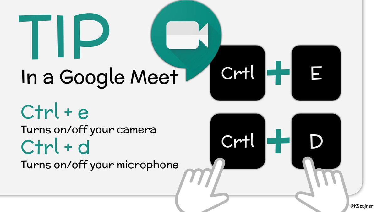 💡Google Meet Keyboard Shortcuts💻 Share these with students to make online meetings much easier!!  #GoogleEDU #Chromebook #googlemeet #distancelearning #remotelearning https://t.co/XbWn7w1iAy