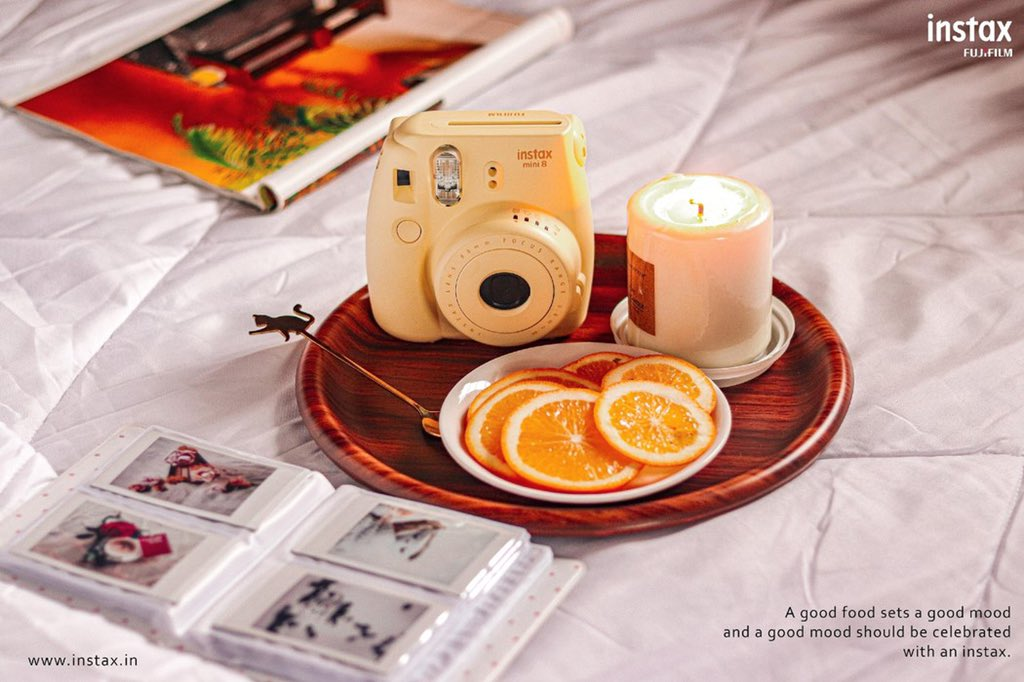 Three most beautiful things of life are good friends, good food and great pictures. So take a moment to adore your yummilicious moment.  Celebrate your good food mood with Instax. #InstaxYourLife #InstaxYourDays  #instaxMini8 #InstaxMini  #InstaxYourDays #MakeMemories https://t.co/9lRqwPqUB6