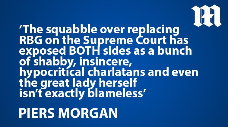 .@piersmorgan: The brazen hypocrisy from the Democrats and Republicans is almost beyond parody trib.al/J0dwB0U