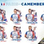 Image for the Tweet beginning: Mardi, c'est Paris-Camembert ! Voici