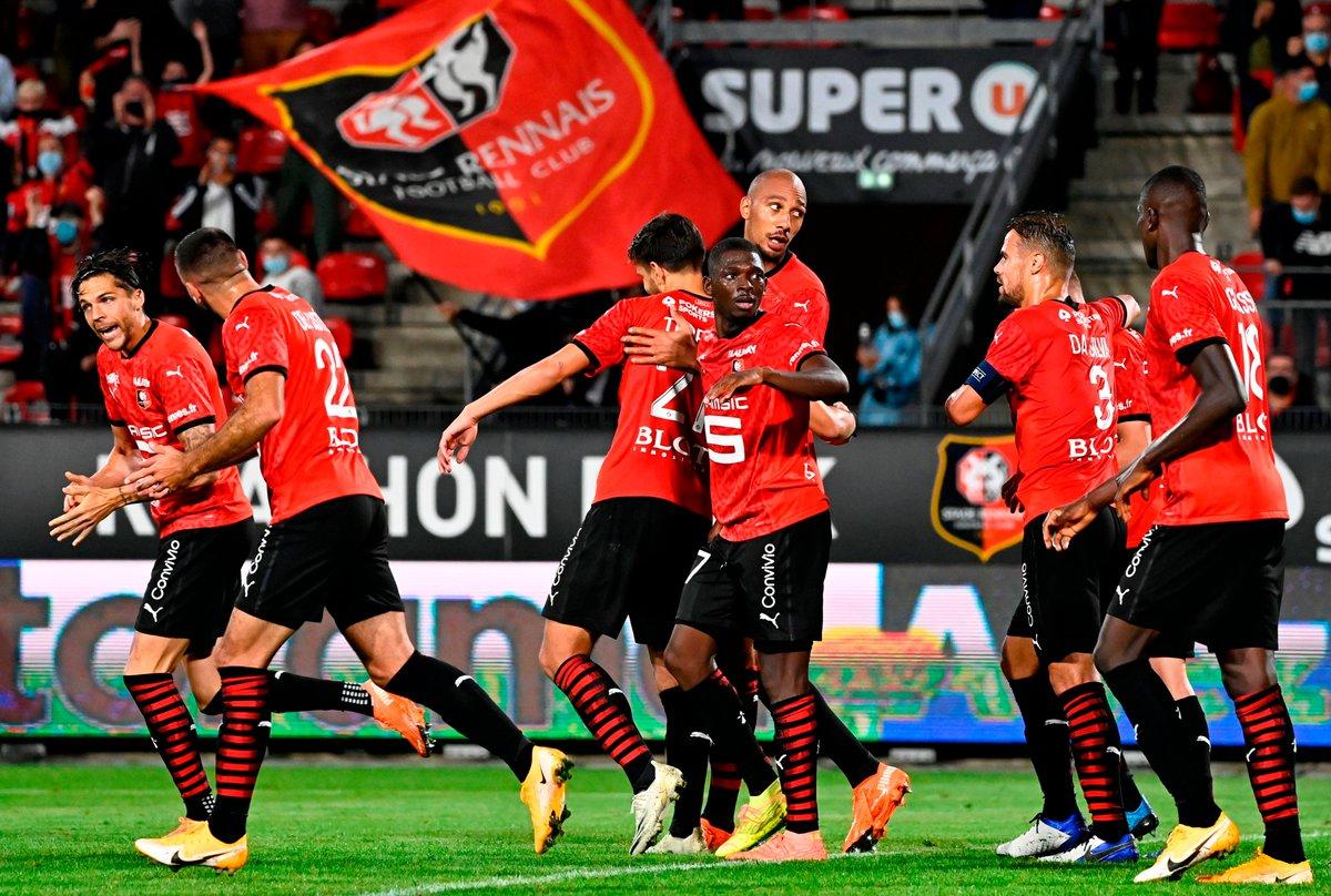 🔴⚫️ Rennes...  Unbeaten in Ligue 1 💪 #UCL debutants 🔜 https://t.co/e0NVk84wzf