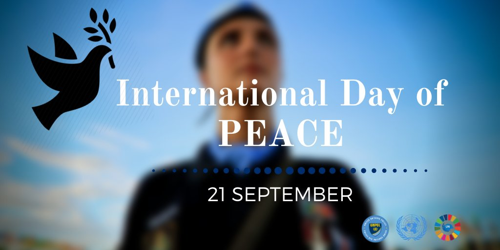 On International #PeaceDay, we commemorate 60 years of @UNPOL contributions to #ShapingPeaceTogether around the world & reaffirm our commitment to fostering peace, justice & equality for all #UN75 #A4P https://t.co/ILxRacwCH4
