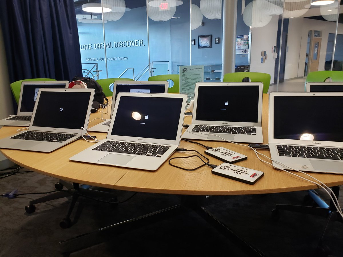 New assistant and extended day configurations going into these repurposed MacBooks, to further enhance <a target='_blank' href='http://twitter.com/DiscoveryAPS'>@DiscoveryAPS</a>' s ability to serve our kiddos! <a target='_blank' href='https://t.co/F1OvFWUmf6'>https://t.co/F1OvFWUmf6</a>