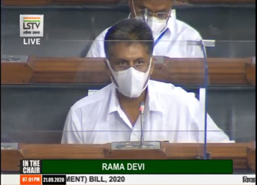 Even before #COVID19 hit us, our GDP had been in a free fall for 7 quarters. Fundamentals of economy - savings, investment, consumption & employment have been under a stress for a while now: Congress MP Manish Tewari on Insolvency & Bankruptcy Code (Second Amendment) Bill, 2020