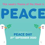 Image for the Tweet beginning: Today is International Peace Day,