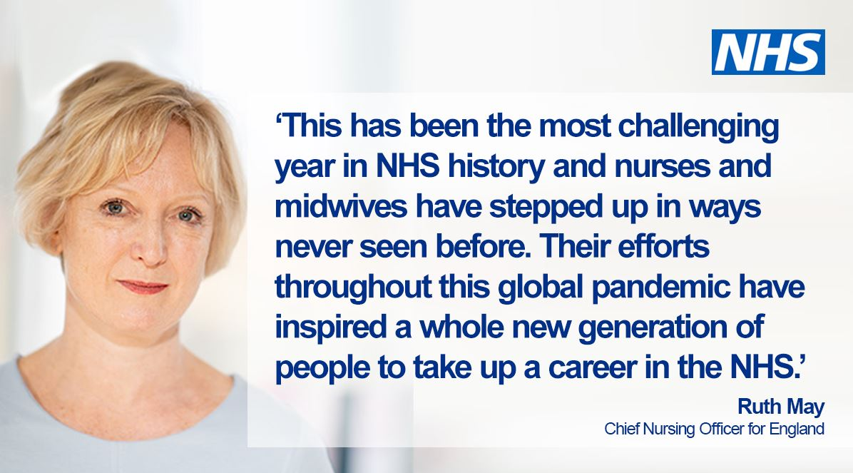 As the NHS continues to respond to #coronavirus and prepare for winter — hospitals, mental health and community trusts in England are set to receive a multi-million-pound boost to help recruit thousands more nurses. Read more. 👩⚕️👨⚕️ #TeamCNO #OurNHSPeople https://t.co/XpTSN3Jb3D https://t.co/W1vXzF886J