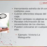 Image for the Tweet beginning: Los #chatbot como herramienta estrella