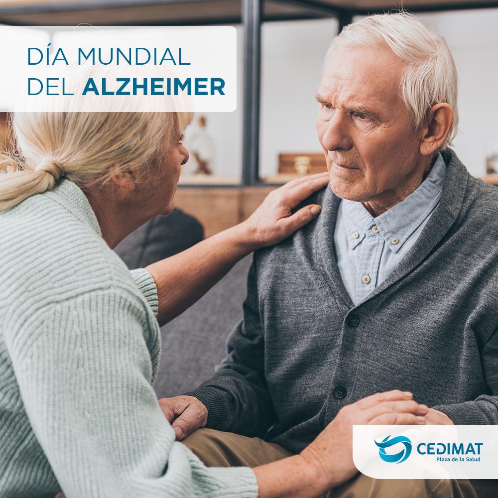 Cada21 de septiembrese conmemora elDía Mundial del Alzheimer, que tiene comoobjetivo concienciar acerca de esta enfermedad y recordar que cada vezse manifiesta en una mayor cantidad de personas a nivel mundial.  #CEDIMAT #Salud #DíaMundial #Alzheimer https://t.co/p4H27XWNPv
