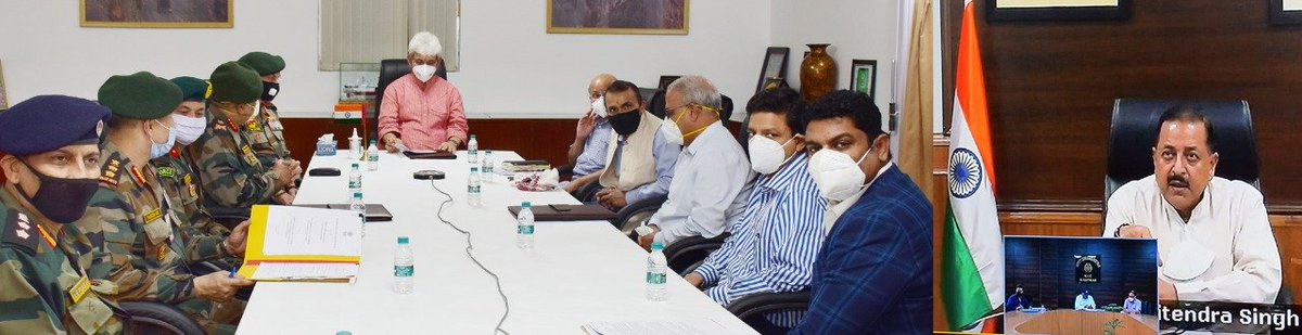Jammu and Kashmir administration & Army today signed an MoU for the development & operationalization of airstrip in Kishtwar, the administration says.