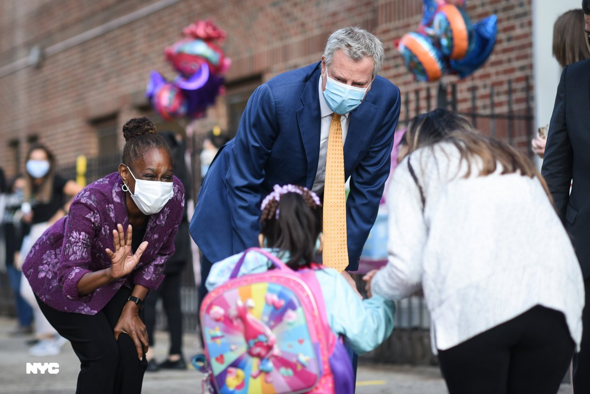 New York City has come back from this crisis because of extraordinary New Yorkers who stepped up when things got tough. As I think about the new school year, I'm confident for the same reason. We have the best school leaders, staff and parents in the nation. #ReturnToSchool2020
