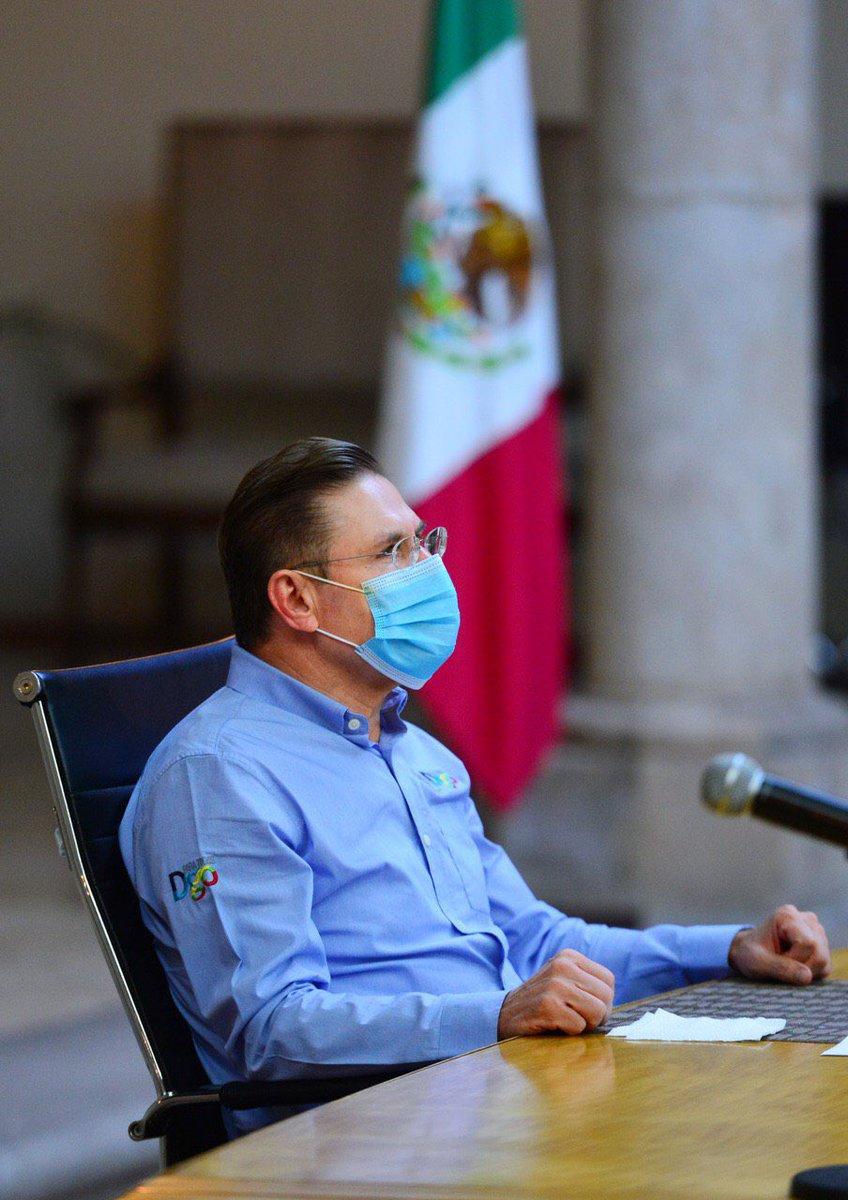 Empezamos el día en #JuntaDeCoordinación, con la participación del @GobiernoMX @SEDENAmx @GN_MEXICO_ y el Gabinete de Seguridad del @gobdgo. Seguiremos impulsando estrategias que nos lleven a seguir siendo uno de los estados más seguros en todo el país. #DurangoSeguro https://t.co/z62RFfMKZK