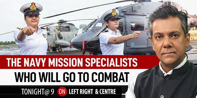 Also on Left, Right and Centre at 9 pm - Meet The Navy's First Women Combat Aviators To Be Deployed On Warships https://t.co/05hivn9TWv