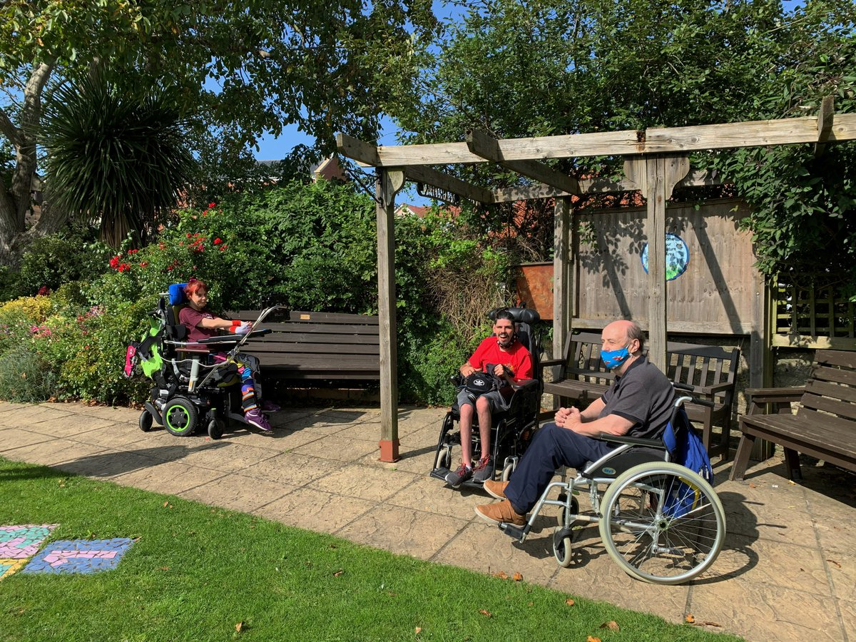 We are now able to support #disabled adults at two sites ♿  Last week, a day well spent in the sun and being creative ☀️  #disabilityawareness #mondaymotivation https://t.co/IR6FGhO9Mv