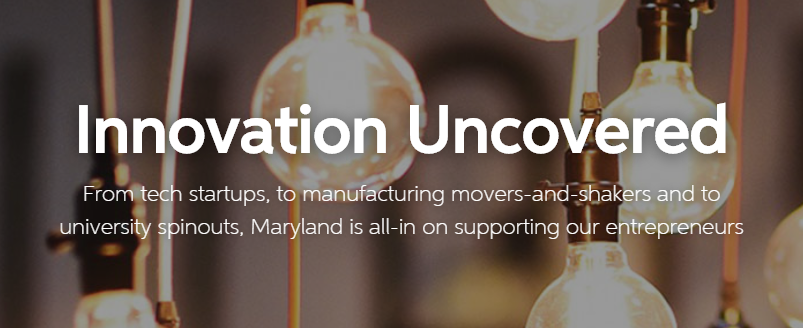 We are accepting nominations through September 30 for Maryland's rising innovative stars. Do you know a business who should be recognized by @GovLarryHogan? #InnovationUncovered https://t.co/GdGTxcvHyp https://t.co/l20fxd5EN4