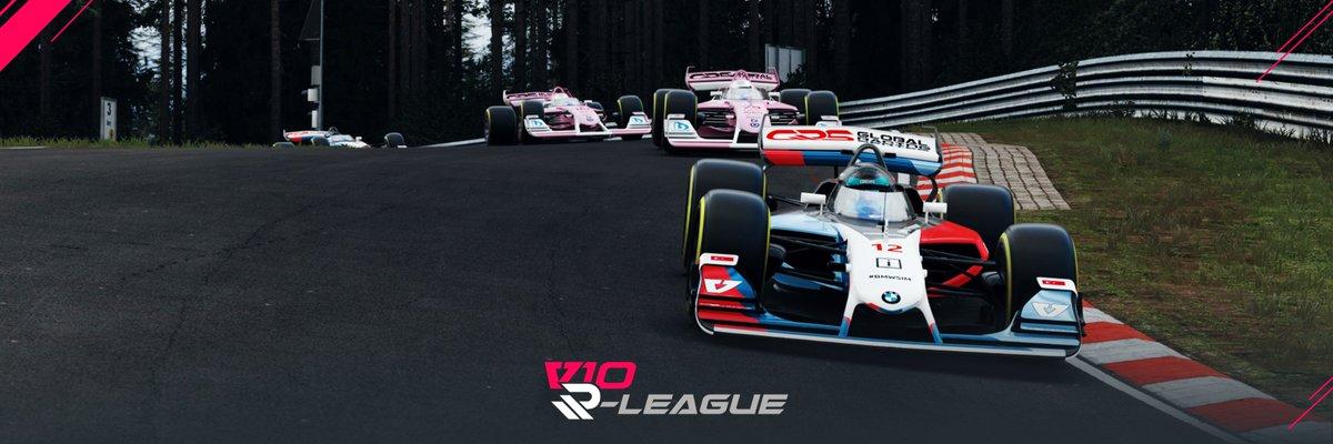 V10 + The Nordschleife = 🤯   Live on BT Sport 2 tonight at 19.00BST   #v10rleague #racingredefined #simracing #assettocorsa #esports #gfin #admm #gaming #nextgen #racing #BTsport #Brandshatch #Motorracing #fordzilla #redline #racingpoint #redbull #williams #Yasheat #Suzuki https://t.co/n2fG00QK6W