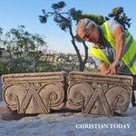 Image for the Tweet beginning: Via @ChristianToday | Archaeologists uncover