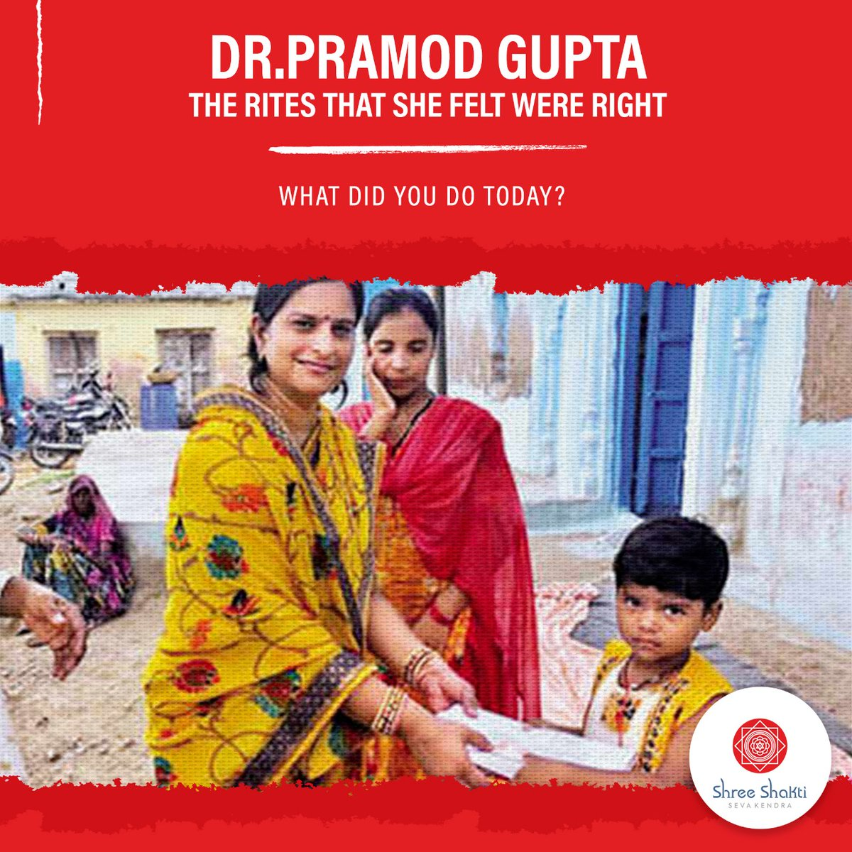 Dr. Pramod Gupta of Jhansi recently performed the Shaardh rites for her mother, and in a heart warming twist in tradition decided to donate Fixed Deposits worth INR 5000 to 25 girls in her mother's village instead.   #SSSK #Holisticeducation #Allrounder #Help #Brightfuture https://t.co/LD9vnW2tnp