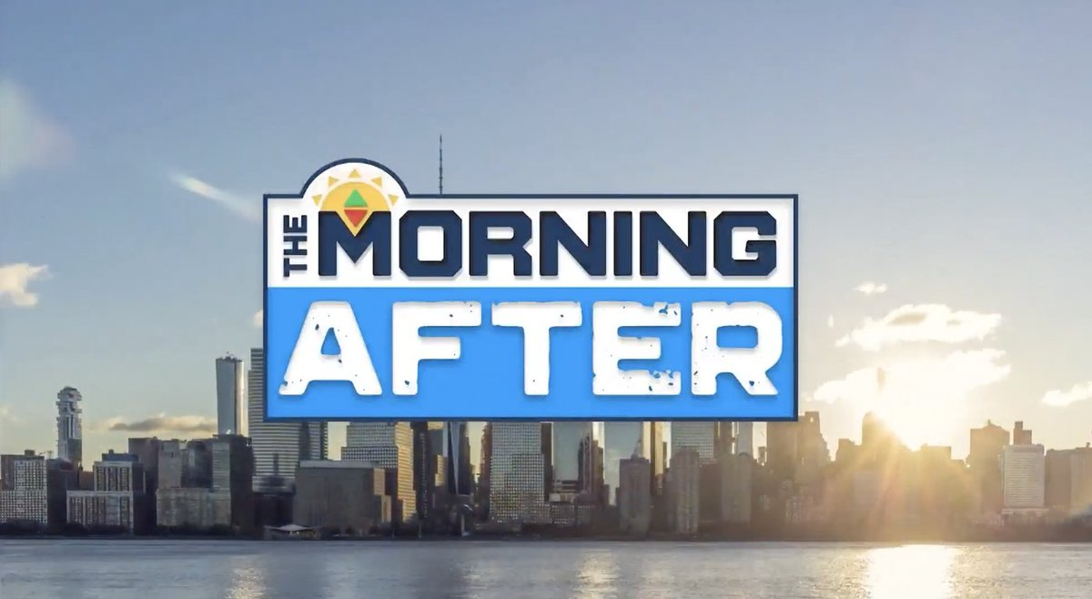 The @SportsGrid movement rolls on. You can now watch 'The Morning After', w/ @ArielEpstein & @jaredleesmith on @MSGNetworks weekdays from 9:30a-11:00a ET.  Also on almost every OTT outlet imaginable in it's entirety 9a-12p ET/6a-9a PT, and on @SportsGridRadio & @1090TheMightier https://t.co/8DurLTYdYk